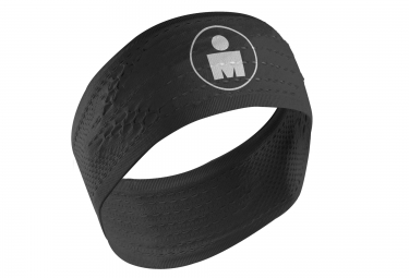 Bandeau COMPRESSPORT IRONMAN HEADBAND On/Off Noir