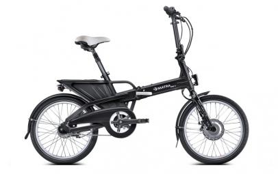 Vélo Électrique Pliant MATRA FX+ 20´´ Noir