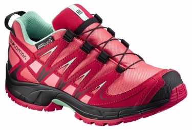 SALOMON XA PRO 3D GTX CS WP Rouge Enfants