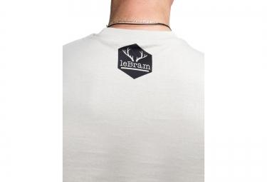 LeBram T-Shirt Pocket Bike Gris