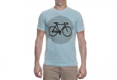 LeBram T-Shirt Point Bike Bleu