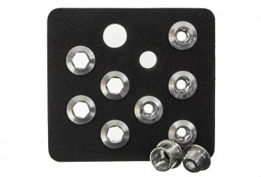 AEROZINE Kit de 5 vis 5mm + cheminées Gris