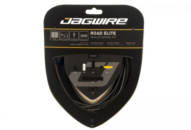 Kit Câbles Gaines de Freins Complet JAGWIRE ROAD ELITE SEALED Marron