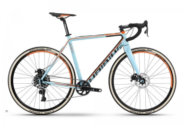 Vélo Cyclo-cross HAIBIKE 2016 NOON 8.30 28´´ Sram Rival 1 11v Bleu Orange