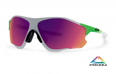 OAKLEY Sunglasses EVZERO PATH Prizm Field- Chrome Iridium Olympic Edition Fade Green Ref OO9308-09