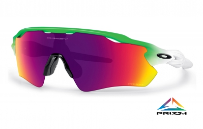 OAKLEY Sunglasses RADAR EV PATH PRIZM ROAD Olympic Edition Green/White Ref OO9208-41
