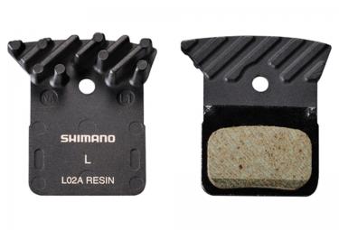SHIMANO Plaquettes de Freins à Disque L02A Organiques