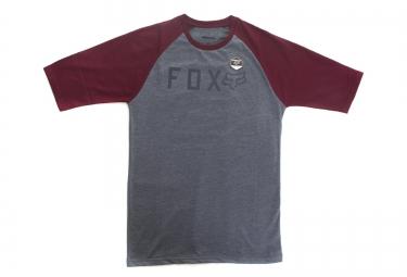 T-Shirt FOX KILL SHOT RAGLAN Gris Rouge