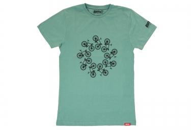 T-Shirt manches courtes BMC LIFESTYLE Bleu