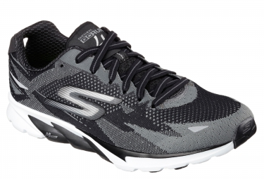 SKECHERS GO RUN 4 Black Grey
