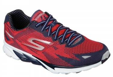 SKECHERS GO RUN 4 Red Black