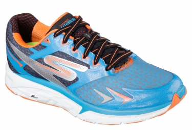 SKECHERS GO RUN FORZA Blue Orange