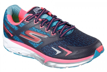 SKECHERS GO RUN FORZA Blue Pink