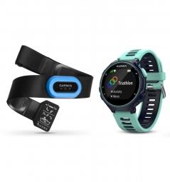 GARMIN Montre Forerunner 735XT GPS Pack Course à Pied Bleu