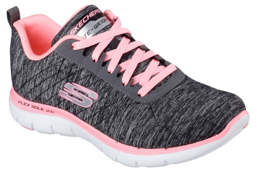 SKECHERS FLEX APPEAL Grey Pink Women
