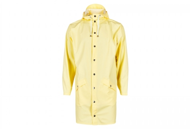 Veste RAINS Long Jacket Jaune