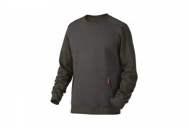 Sweat OAKLEY CHIPS THERMAL CREW Gris Vert