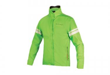 ENDURA Veste imperméable Pro SL Vert Haute Visibilité