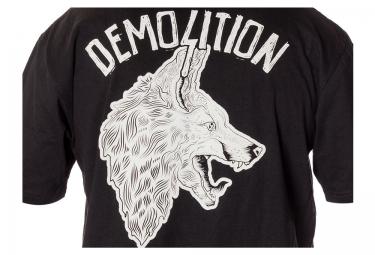 T-Shirt DEMOLITION KRIS FOX Noir