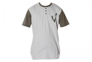 T-Shirt VOLUME HENLEY Gris