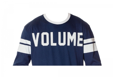 T-Shirt Manches Longues VOLUME Bleu