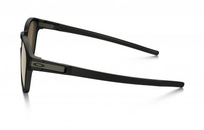 Lunettes Oakley LATCH Noir Marron Polarisé