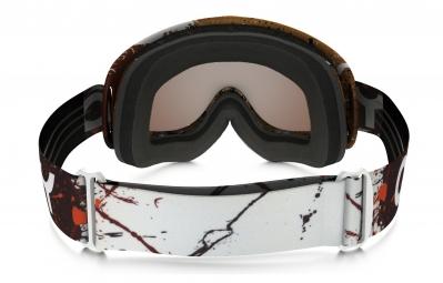 Masque Oakley O-FRAME MX FLIGHT SERIES Noir Marron