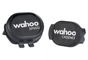 Pack Capteur Vitesse + Cadence RPM WAHOO FITNESS