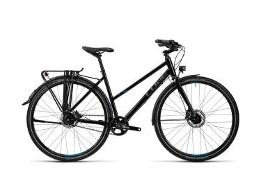 Vélo de Ville Femme Cube Travel SL Noir / Bleu