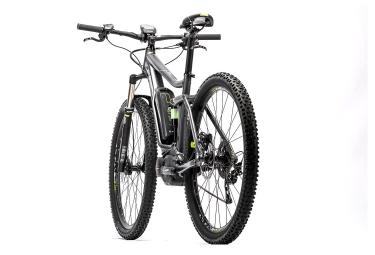 VTT électrique CUBE STEREO HYBRID 29´´ 120 HPA PRO 400W 2016 Noir/Gris