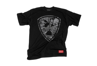 T-Shirt SUBROSA X THE COME UP COLLAB Noir