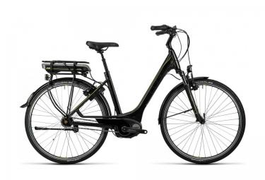 Vélo de Ville Electrique Cube Travel Hybrid 500 Easy Entry Shimano Nexus 7v Noir Jaune