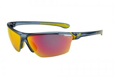 CEBE Paire de lunettes CINETIK Cristal Mat Bleu Jaune 1500 Gris