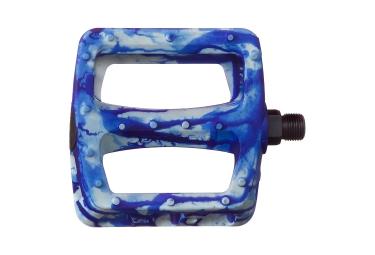 Pédales ODYSSEY TWISTED Tie Dye Blue