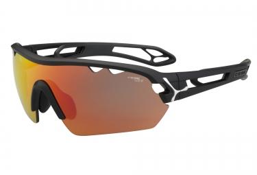 CEBE Paire de lunettes S´TRACK MONO Medium Noir Mat 1500 Gris
