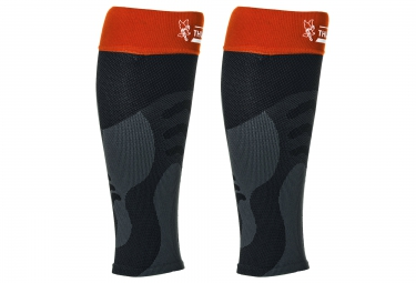 Manchons de Compression THUASNE SPORT UP´ Noir Orange