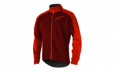 Veste Coupe-Vent ALPINESTARS DESCENDER 2 Rouge