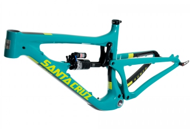 Kit Cadre SANTA CRUZ Nomad 3 Carbon Bleu/Jaune M + Fourche ROCKSHOX Lyrik RCT3 Solo Air 180 27.5´´ BOOST
