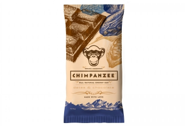 CHIMPANZEE Barre Energétique 100% naturelle Dattes et Chocolat 55g VÉGÉTALIEN