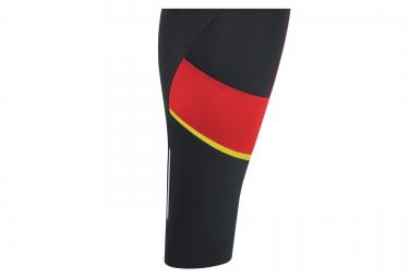 Cuissard Thermique GORE BIKE WEAR POWER 3.0 Noir Rouge