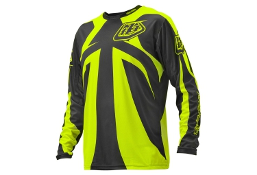 Maillot Manches Longues TROY LEE DESIGNS SPRINT REFLEX 2016 Gris Jaune
