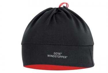 Bonnet Soft Shell GORE BIKE WEAR UNIVERSAL WINDSTOPPER Noir