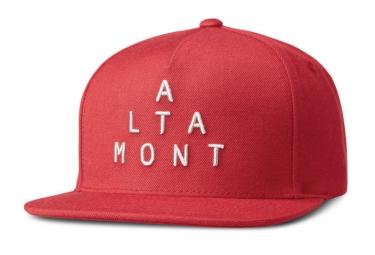 Casquette Snapback ALTAMONT ALPHA Rouge