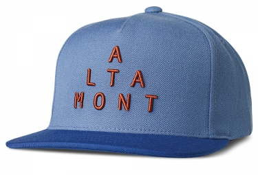 Casquette Snapback ALTAMONT ALPHA Bleu