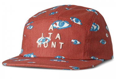 Casquette 5 Panel ALTAMONT SEEING Cardinal