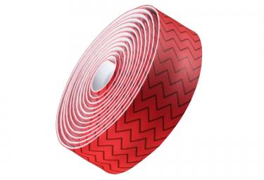 Ruban de Cintre BONTRAGER Gel Cork Zigzags Rouge