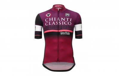 Maillot Manches Courtes SANTINI CHIANTI STAGE Violet