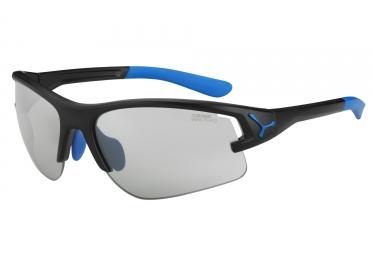 CEBE Paire de lunettes ACROSS Noir Mat Bleu VARIO PERFO FM (Pack 3 verres)