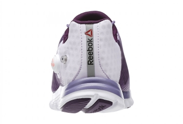 REEBOK ZPUMP FUSION Blanc Violet Femme