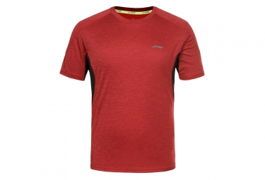 Maillot Manches Courtes LI-NING LAWSON Rouge